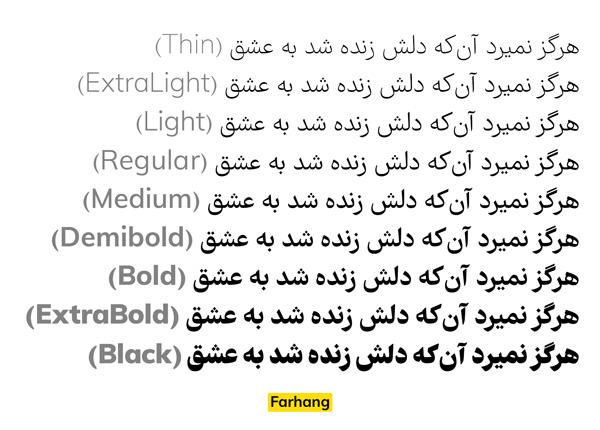 فونت رسمی و اداری فارسی، بهترین فونت برای نامه نگاری اداری